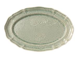 Bilde av Sthål - ovalt serveringsfat, Antique