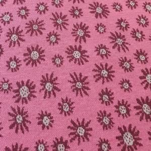 Bilde av Jacquard blomster rosa