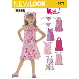 Bilde av New Look 6478 Kjole og skaut