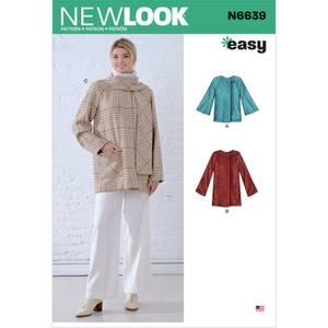 Bilde av New Look N6639 Poncho og jakke