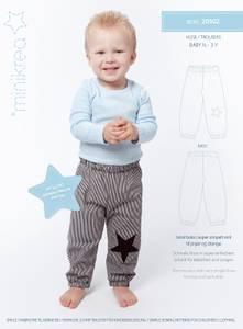 Bilde av Minikrea 20302 Enkel bukse til barn