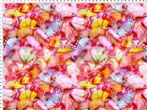Bilde av Jersey - sommerfugler rosa