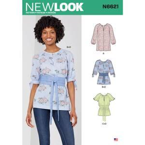 Bilde av New Look N6621 Topp, tunika, genser