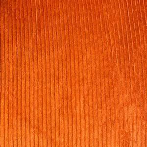 Bilde av Kordfløyel med stretch bredstripet orange