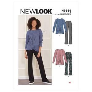 Bilde av New Look N6689 Topp og Bukse