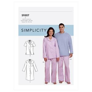 Bilde av Simplicity S9207 Pysjamas og nattkjole
