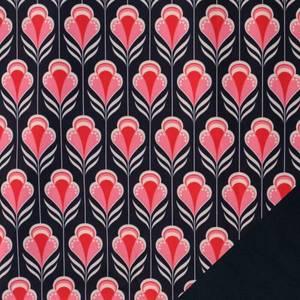 Bilde av Softshell - Retro Blomster, rosa