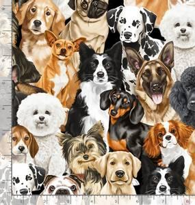 Bilde av Bomull - hunder