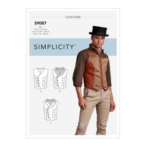 Bilde av Simplicity S9087 Kostyme Steampunk vest