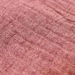 Bilde av Chambray double gauze - rød